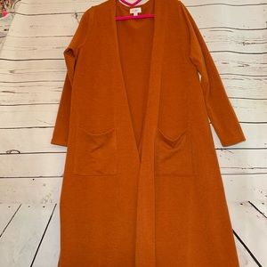 Pumpkin Orange LuLaRoe Sarah Cardigan!!
